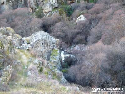 Puentes Medievales Río Manzanares; aneto camping selva irati nudos montaña foros montaña